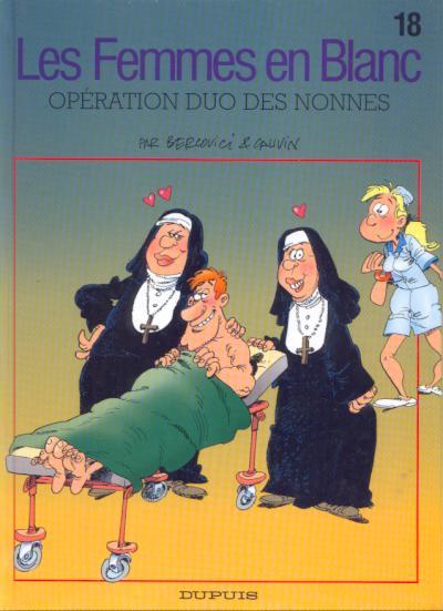 FEMMES EN BLANC (LES) - Opération duo des nonnes  - Tome 18 - Grand format