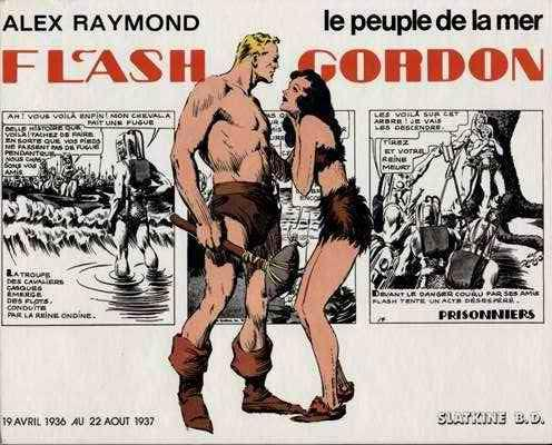 FLASH GORDON (SLATKINE) - Le peuple de la mer (HS) - Grand format