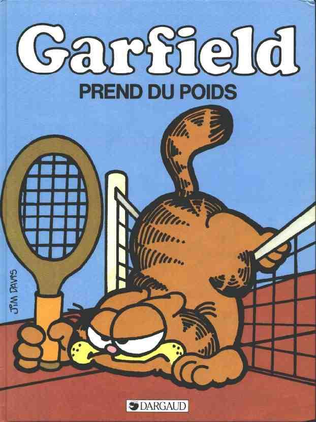 GARFIELD - Garfield prend du poids  - Tome 1 - Grand format