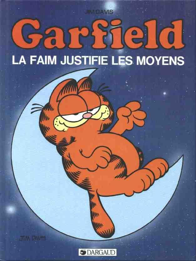 GARFIELD - La faim justifie les moyens  - Tome 4 (b) - Grand format