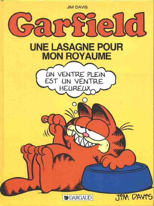 GARFIELD - Une lasagne pour mon royaume  - Tome 6 (a) - Grand format