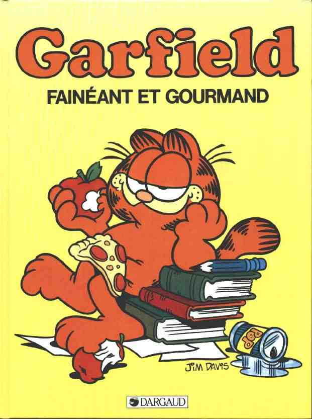 GARFIELD - Fainéant et gourmand  - Tome 12 (c) - Grand format
