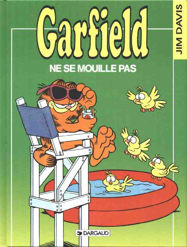 GARFIELD - Garfield ne se mouille pas  - Tome 20 (b) - Grand format