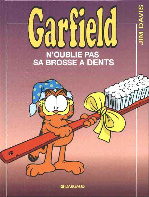 GARFIELD - Garfield n'oublie pas sa brosse à dent  - Tome 22 (a) - Grand format
