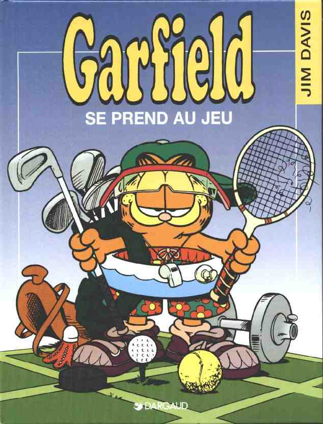 GARFIELD - Garfield se prend au jeu  - Tome 24 - Grand format