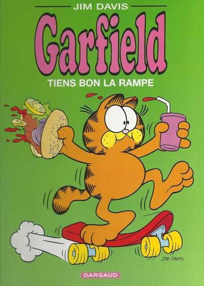 GARFIELD - Tiens bon la rampe  - Tome 10 (c) - Grand format