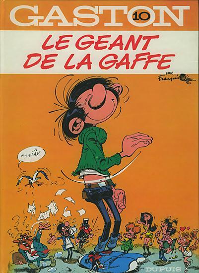 GASTON LAGAFFE - Le géant de la gaffe  - Tome 10 (e) - Grand format