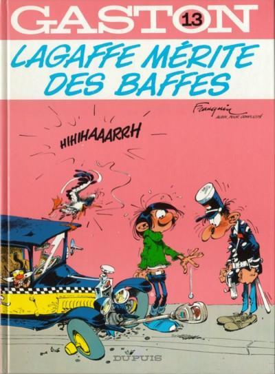 GASTON LAGAFFE - Lagaffe mérite des baffes  - Tome 13 - Grand format