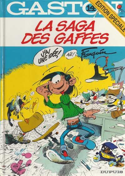 GASTON LAGAFFE - La saga des gaffes  - Tome 14 (ES) - Grand format