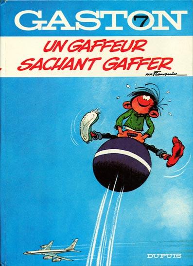 GASTON LAGAFFE - Un gaffeur sachant gaffer  - Tome 7 (a) - Grand format