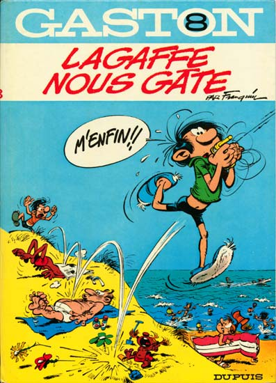 GASTON LAGAFFE - Lagaffe nous gâte  - Tome 8 (b) - Grand format
