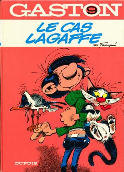 GASTON LAGAFFE - Le cas Lagaffe  - Tome 9 (a) - Grand format