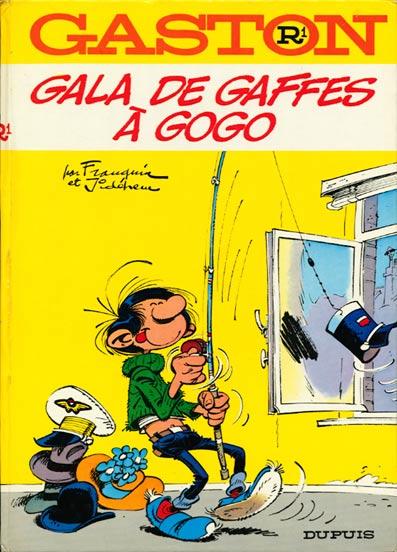 GASTON LAGAFFE - Gala de gaffes à gogo (R1) - Grand format