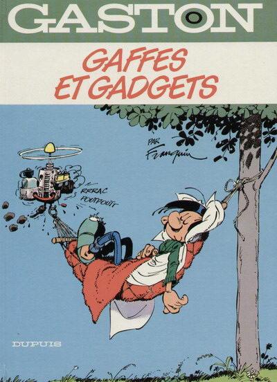 GASTON LAGAFFE - Gaffes et gadgets  - Tome 0 - Grand format