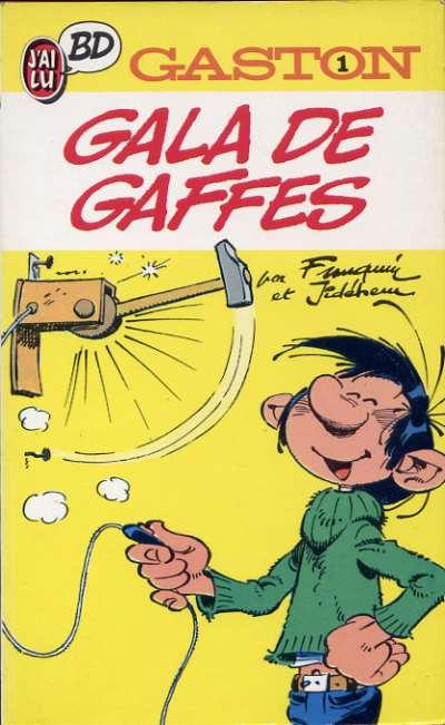 GASTON (POCHE) - Gala de gaffes  - Tome 1 - Moyen format