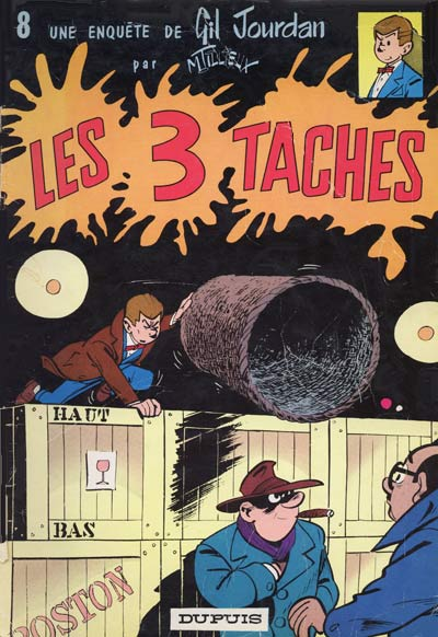 GIL JOURDAN - Les 3 taches  - Tome 8 (a) - Grand format