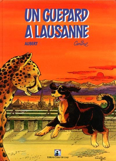 SHERPA - Un guépard à Lausanne  - Tome 1 - Grand format