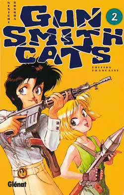 GUN SMITH CATS - Tome 2  - Tome 2 - Moyen format
