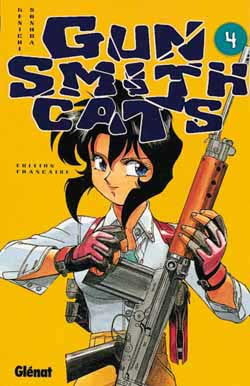 GUN SMITH CATS - Tome 4  - Tome 4 - Moyen format