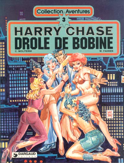 HARRY CHASE - Drole de bobine  - Tome 2 - Grand format