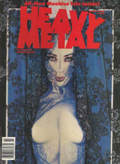 HEAVY METAL - March 1990  - Tome 9003 - Grand format