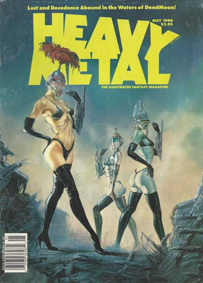 HEAVY METAL - May 1990  - Tome 9005 - Grand format
