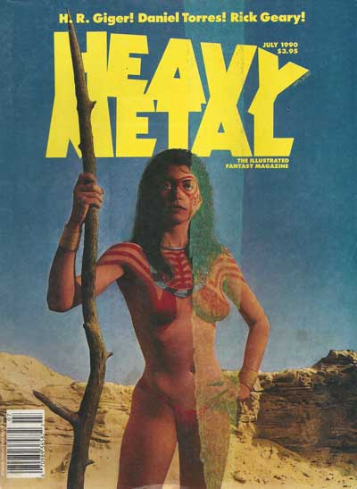 Heavy Metal  -  July 1990  - Tome 9007