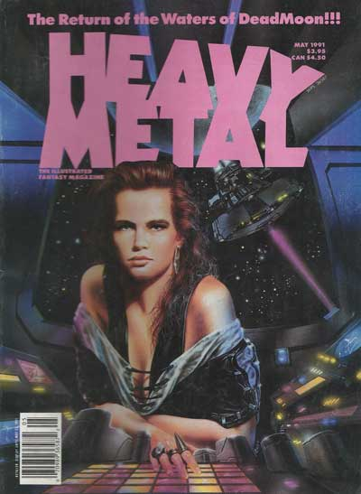 HEAVY METAL - May 1991  - Tome 9105 - Grand format
