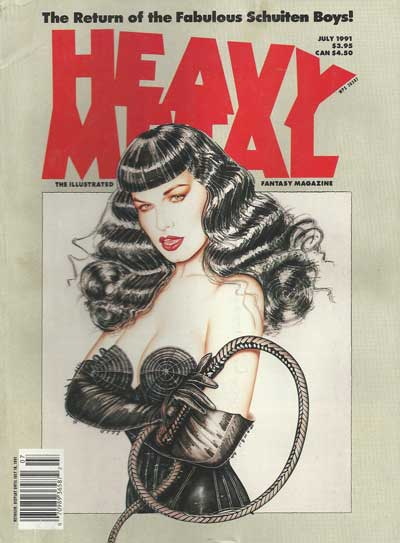 Heavy Metal  -  July 1991  - Tome 9107