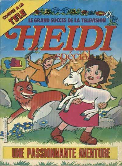 HEIDI (SPÉCIAL) - Une passionante aventure  - Tome 1 - Grand format