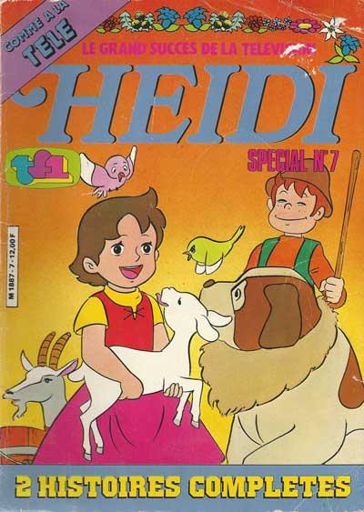 HEIDI (SPÉCIAL) - Querelle sur Alpe  - Tome 7 - Grand format