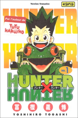 hunter x hunter tome 1  - tome 1