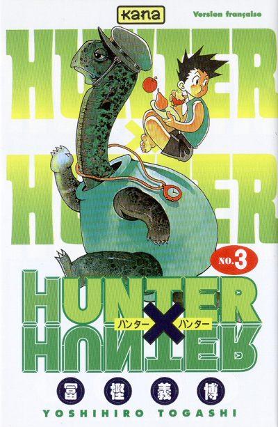 HUNTER X HUNTER - Tome 3  - Tome 3 - Moyen format