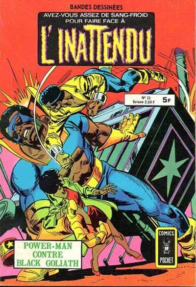INATTENDU (L') - Power-man contre black Goliath  - Tome 23 - Moyen format