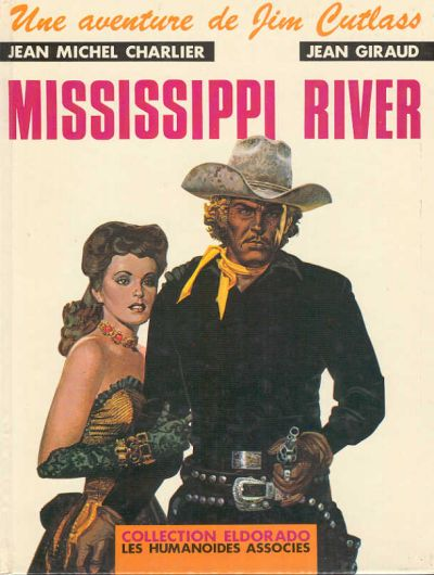 JIM CUTLASS (UNE AVENTURE DE) - Mississipi River  - Tome 1 - Grand format