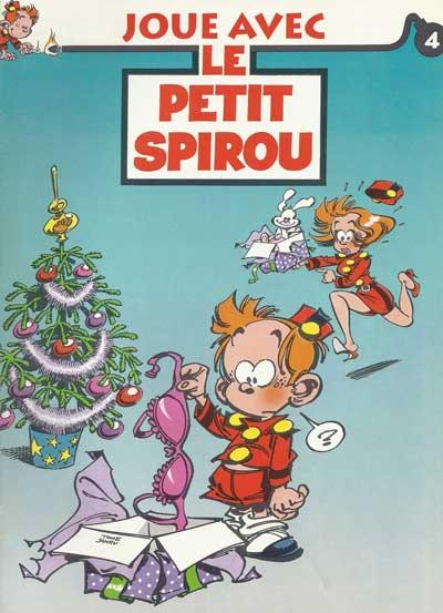 JOUE AVEC LE PETIT SPIROU - Numéro 4  - Tome 4 - Grand format