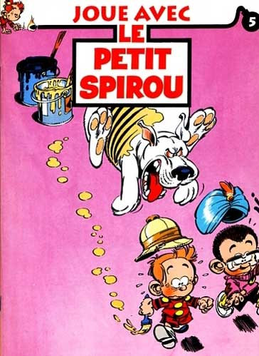 JOUE AVEC LE PETIT SPIROU - Numéro 5  - Tome 5 - Grand format