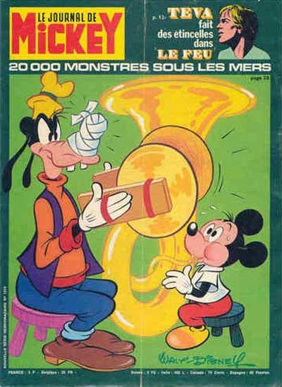 JOURNAL DE MICKEY (LE) - 1315 - 20000 monstres sous les mers - Grand format