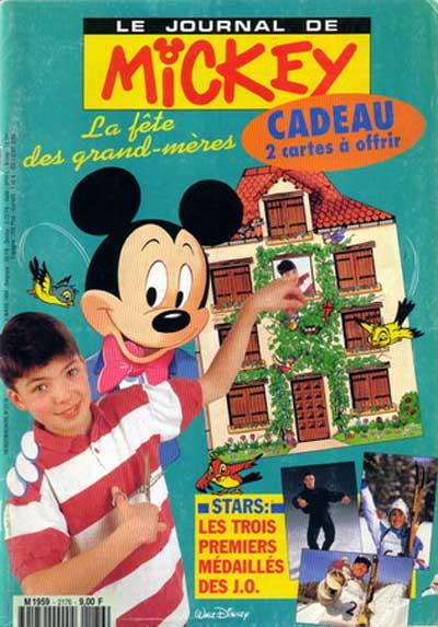 JOURNAL DE MICKEY (LE) - 2176 - La fêtes des grand-mères - Grand format