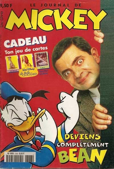 JOURNAL DE MICKEY (LE) - 2368 - Deviens complètement Bean - Grand format