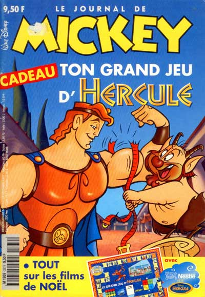JOURNAL DE MICKEY (LE) - 2374 - Ton grand jeu d'Hercule - Grand format