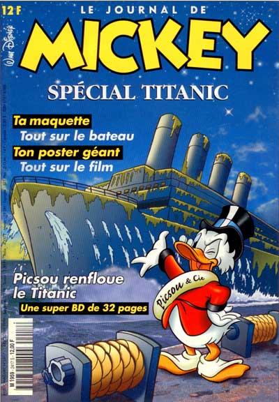 JOURNAL DE MICKEY (LE) - 2417 - Spécial Titanic - Grand format