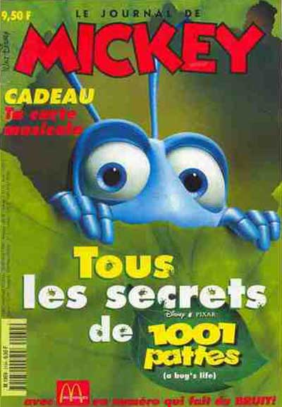 JOURNAL DE MICKEY (LE) - 2434 - Tous les secrets de 1001 pattes - Grand format