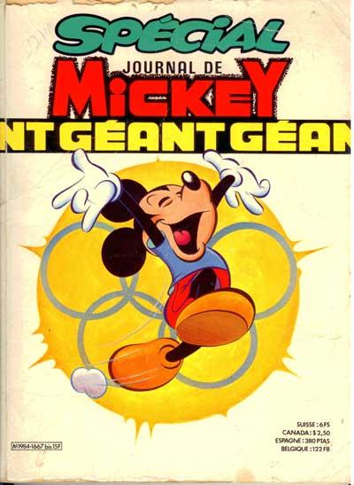 JOURNAL DE MICKEY (LE) (SPÉCIAL - GÉANT) - 1667 - D'une pierre deux coups - Grand format