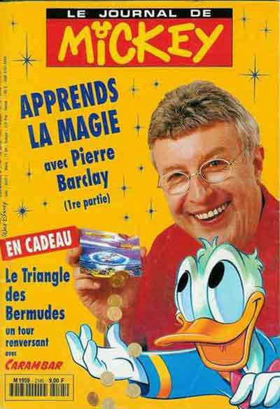 JOURNAL DE MICKEY (LE) - 2145 - Apprends la magie - Grand format