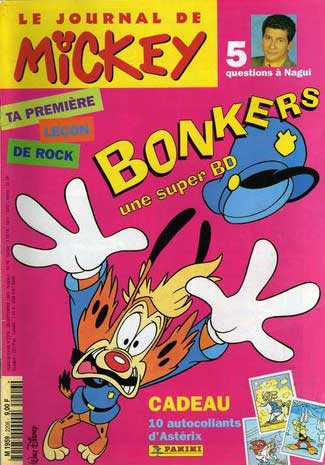 JOURNAL DE MICKEY (LE) - 2206 - Bonkers - Grand format