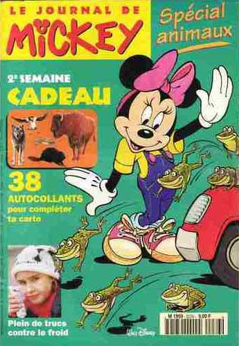JOURNAL DE MICKEY (LE) - 2276 - Spécial animaux - Grand format