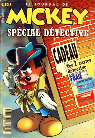 JOURNAL DE MICKEY (LE) - 2338 - Spécial détective - Grand format