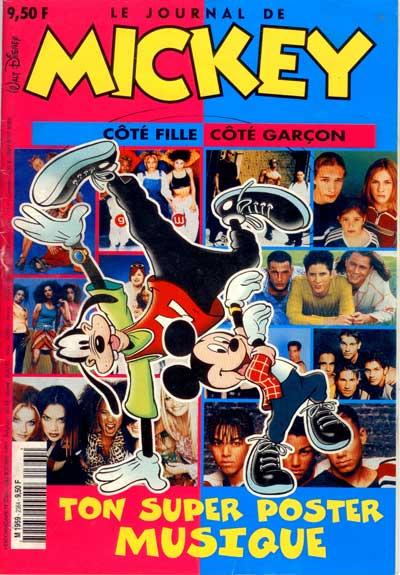 JOURNAL DE MICKEY (LE) - 2364 - Ton super poster de musique - Grand format