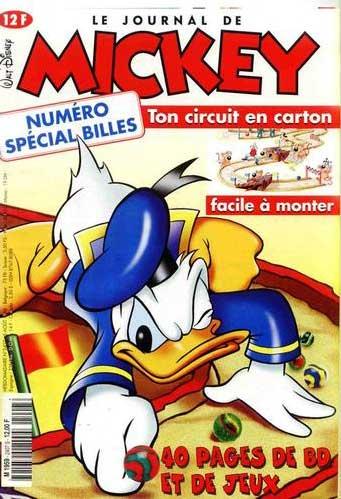 JOURNAL DE MICKEY (LE) - 2407 - Numéro spécial billes - Grand format